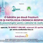 O bătălie pe două fronturi: COVID-19 și patologia cronică respiratorie